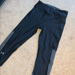 Under armour high waisted workout leggings